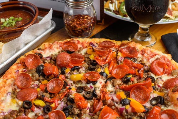 The Glutton Ole Pizza Pies