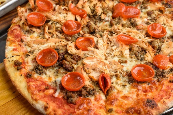 The Carnivore Ole Pizza Pies