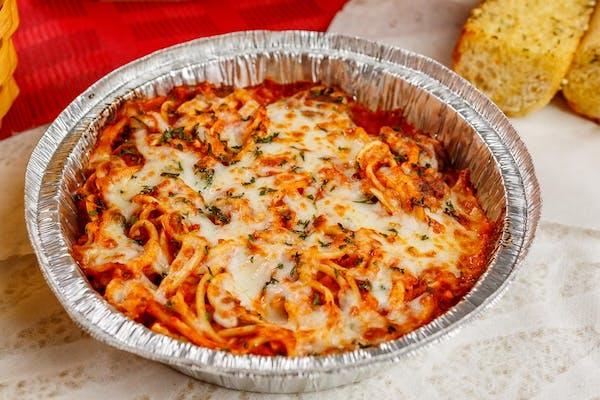 Baked Spaghetti & Meatball