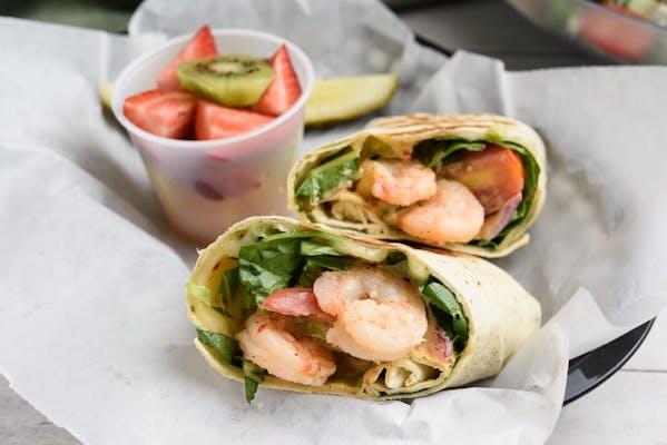 Cajun Shrimp Wrap