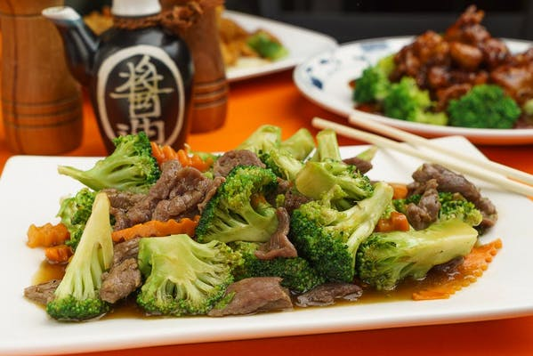 B2. Beef with Broccoli & Rice