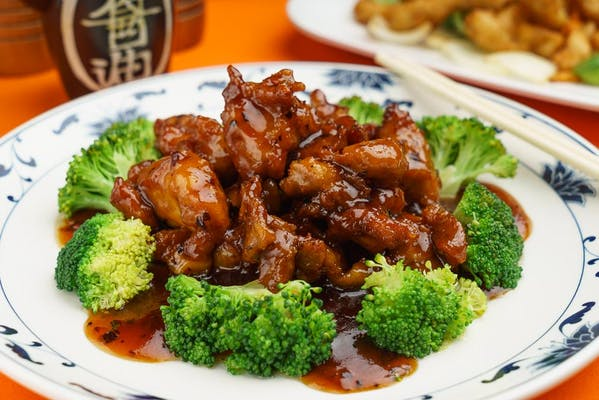 F4. Crispy Sesame Chicken & Rice