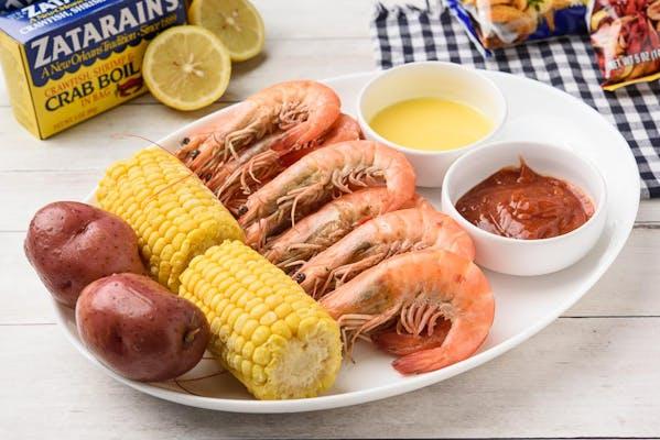 Special Steamed Shrimp Plate