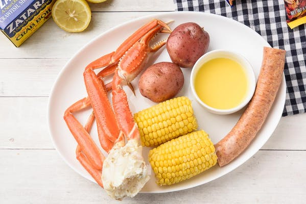 Special Steamed Snow Crab Combo