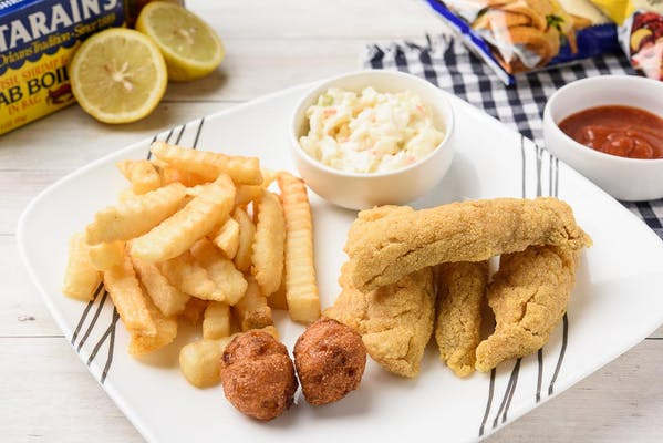 Fried White Trout Combo