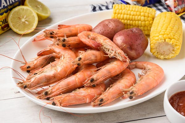 Special Steamed Shrimp Combo