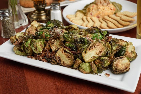 Bacon Dusted Brussel Sprout