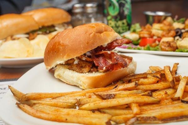 Chicken Bacon Ranch Club Sandwich