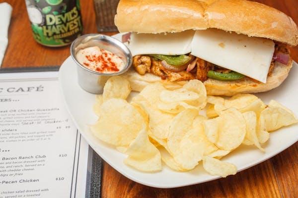 Chicken Philly Sandwich