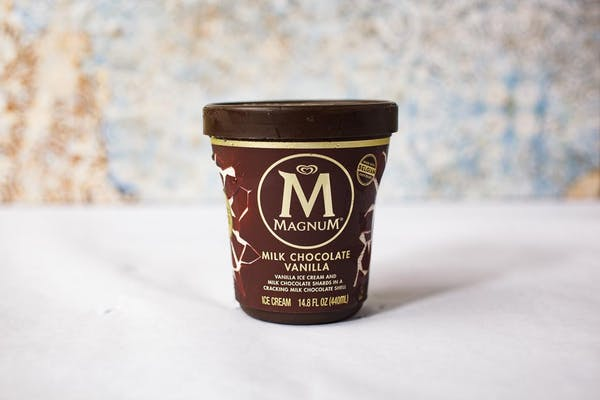 Milk Chocolate Vanilla Magnum Ice Cream