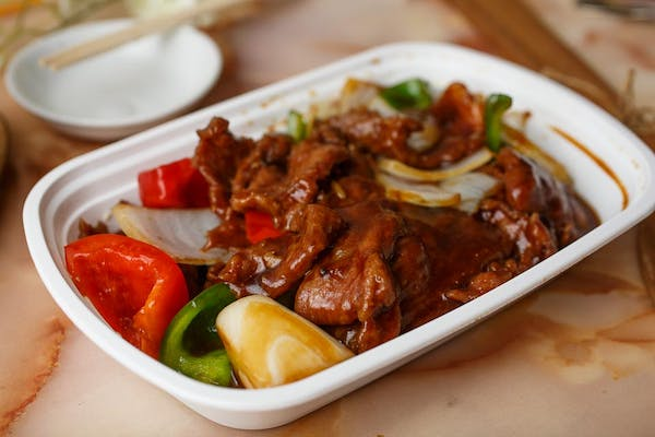 L6.  Pepper Steak with Onion Special