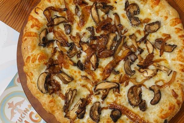 The Ultimate Wild Mushroom Pizza