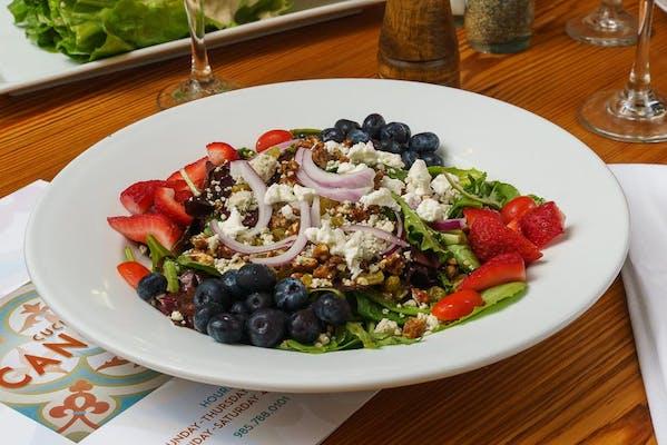 Cangemi Salad & Herbed Breadsticks