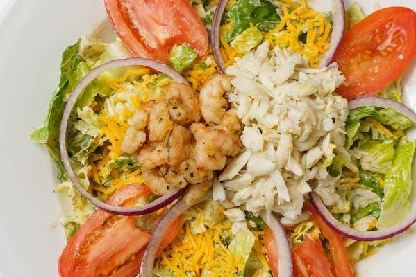 Seafood Salad & Herbed Breadsticks