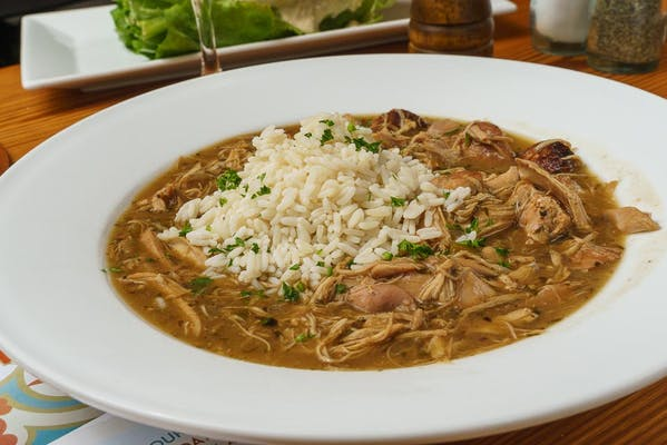Chicken & Sausage Gumbo Soup