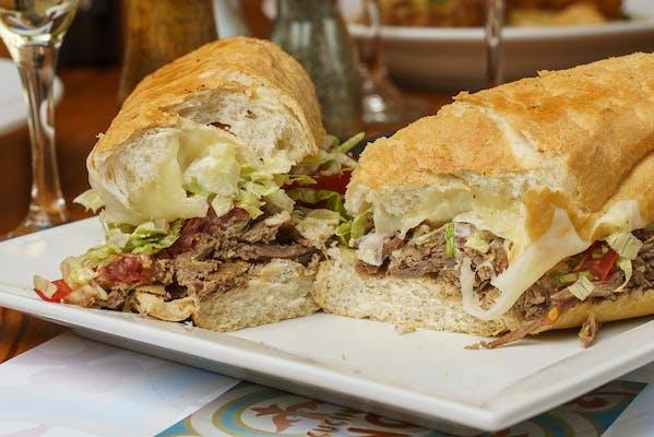 The Roast Beef Sandwich & Kettle Chips