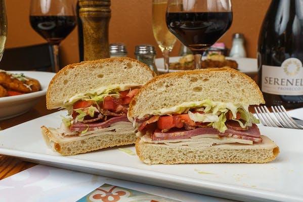 Italian Club Sandwich & Kettle Chips