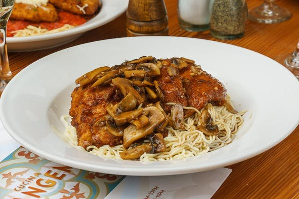 Chicken or Veal Marsala