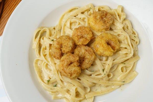 Chicken or Shrimp Alfredo