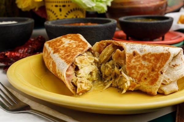 Guisado de Pollo Burrito