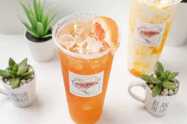 2. Grapefruit Tea
