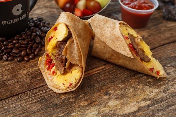 Western Omelet Wrap