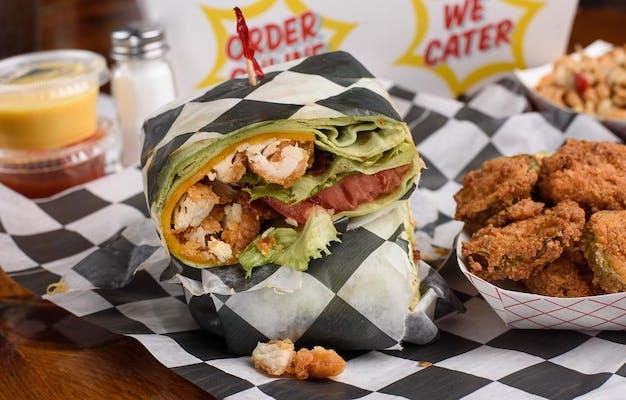 Chicken Tender BLT Wrap