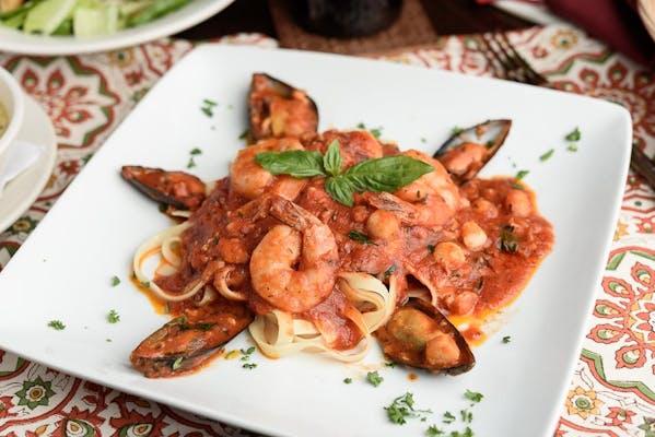 Shrimp Scaloppini