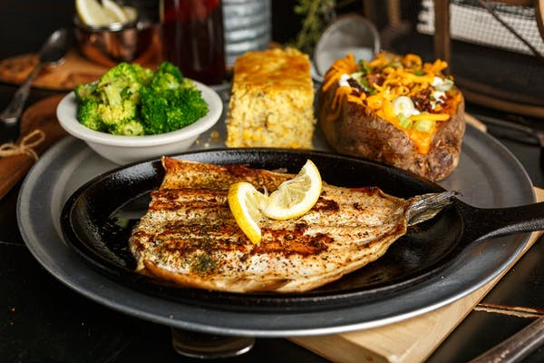 Grilled Idaho Trout