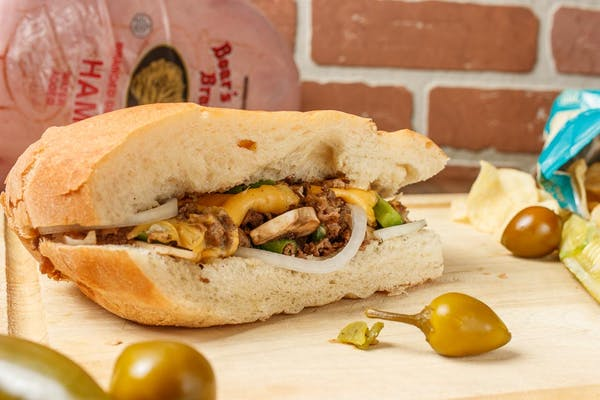 Chicken Philly Cheese Subs