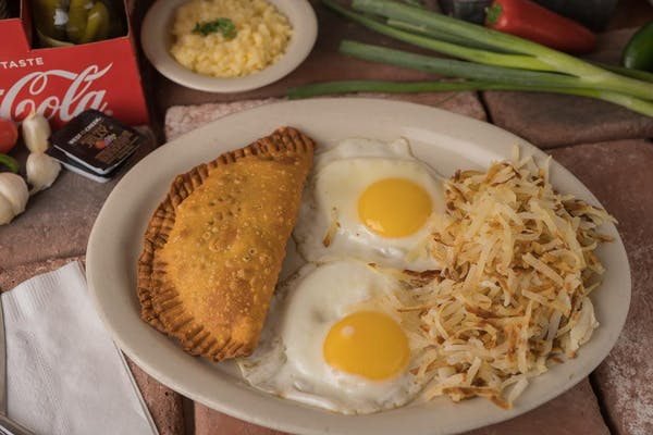 Meat Pie Breakfast Special