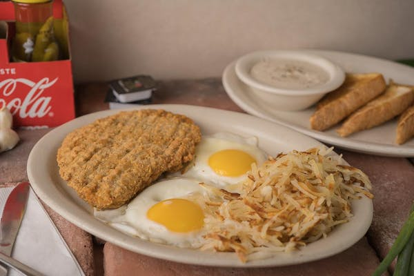 Country Fried Steak Breakfast Special