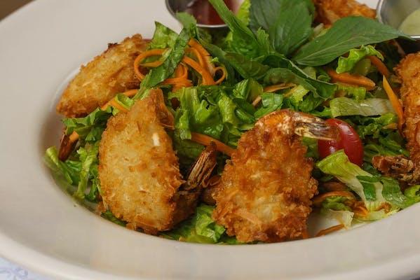 Vietnamese Coconut Shrimp Salad