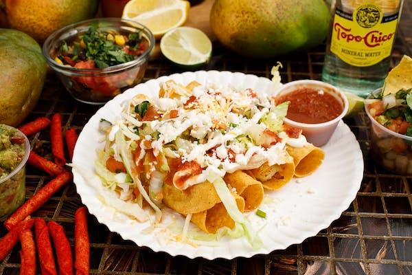 (4) Potato Taquitos