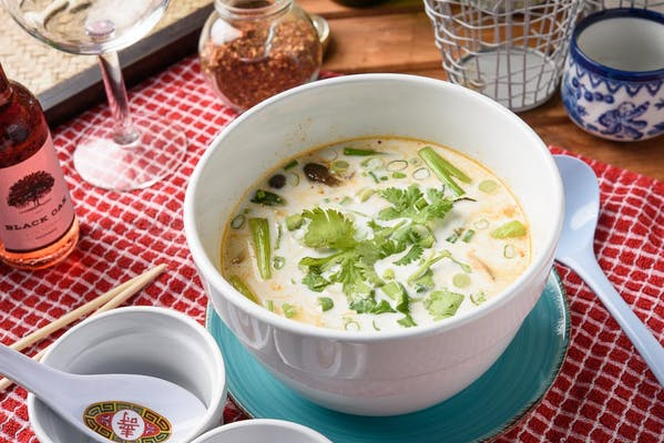 S2. Thai Coconut Soup