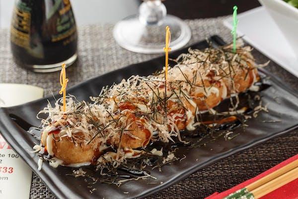 Takoyaki-Octopus Ball