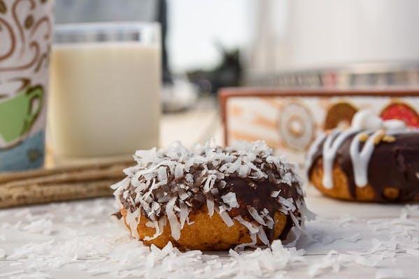 Chocolate Coconut Donut