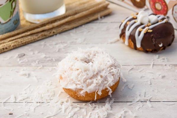 Vanilla Coconut Donut