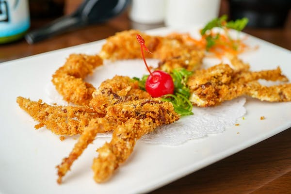 A12. Fried Soft-Shell Crab