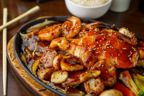 TK3. Seafood Teriyaki