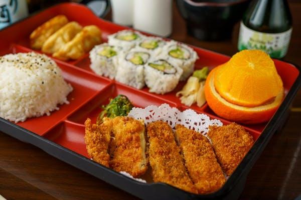 Dinner Chicken Teriyaki or Chicken Cutlets Bento