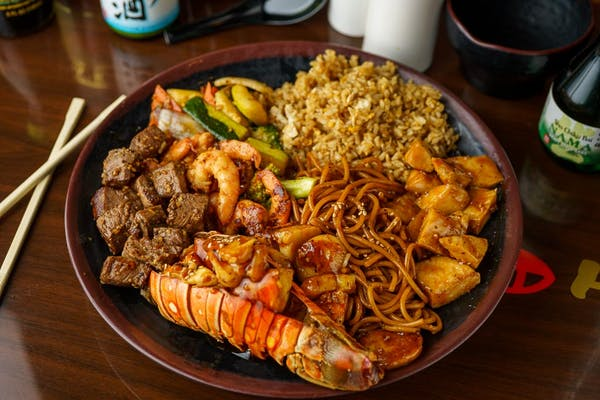 DC15. House Special Hibachi Combo for Two
