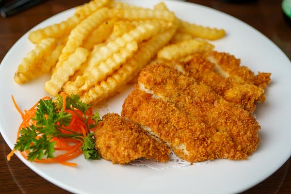 L09. Chicken Cutlets Lunch Special