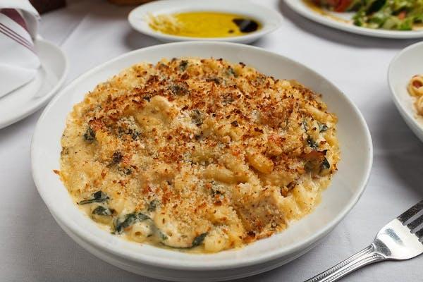 Tuscan Chicken Mac & Cheese Pasta