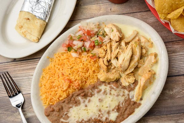 21. Pollo Ranchero Lunch