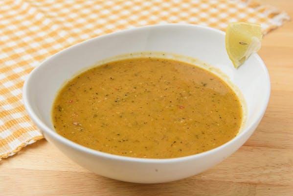 Hot Red Lentil Soup