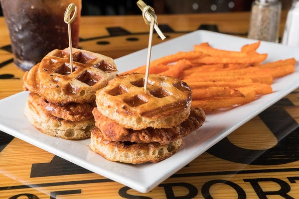 (2 pc.) Chicken & Waffle Sliders