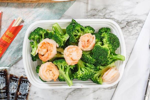 63. Shrimp & Broccoli