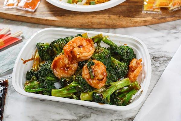 L20. Shrimp & Broccoli