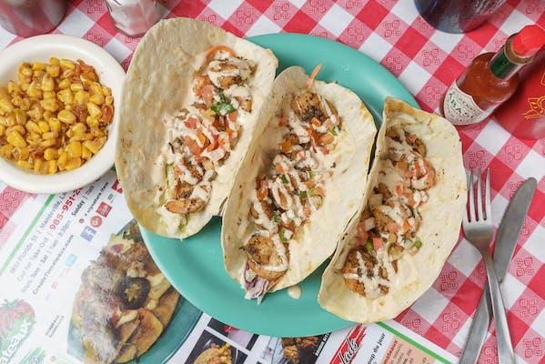 Blackened Shrimp Tacos